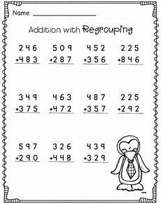 math worksheet 3 digit subtraction with regrouping 3 digit addition with regrouping 2nd grade math