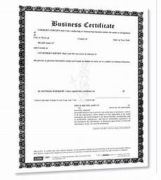 business certificate forms for trade name dba assumed name
