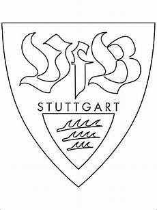 Malvorlage Vfb Stuttgart Emblem Of Vfb Stuttgart Coloring Page Coloring Pages