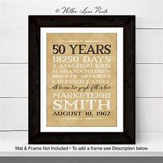Ideas For Parents 50th Wedding Anniversary
