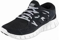nike free run 2 ext calzado negro gris