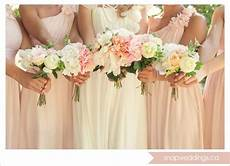 homemade bridal bouquets made with silk flowers by the in advance blush pink wedding