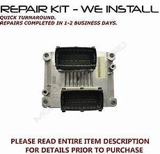 car maintenance manuals 2007 cadillac cts transmission control repair kit for 2004 2007 cadillac cts or srx ecu ecm engine computer gt misfires ebay