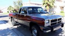1st Dodge Diesel For Sale 1993 dodge w250 134k 1st cummins for sale