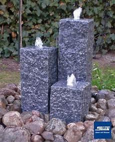 springbrunnen aus stein gartenbrunnen sylt 3 3 granits 228 ulen slink ideen mit wasser