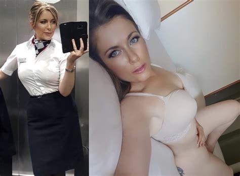 Flight Attendant Naked