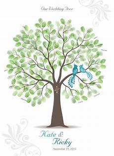 thumb print wedding tree guest book poster with 3 by tjloveprints 72 00 ecclectic treasures
