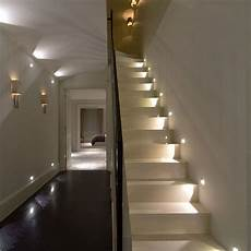 hallway ideas designs and inspiration in 2019 stairway lighting staircase lighting ideas