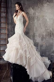 princess aline sleeved open back wedding dresses almette layered skirt glamorous princess mermaid wedding dresses