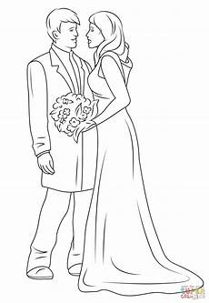 Ausmalbilder Hochzeit Wedding Coloring Pages Free Printable Free Coloring Sheets