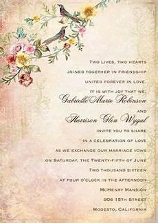 Wedding Words For Invitation