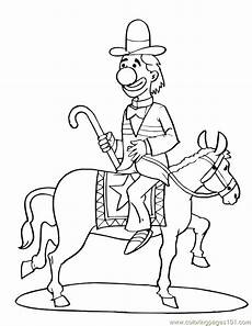 circus coloring page free circus animals coloring