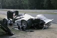 Webber Le Mans Crash