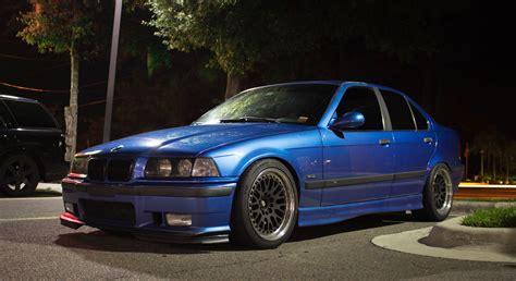 Blue Bmw M3 E36