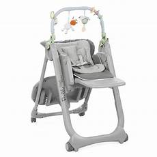 chaise haute polly magic relax 4 roues de chicco