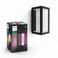 hue white and colour ambience impress outdoor wall light 1742930p7 philips