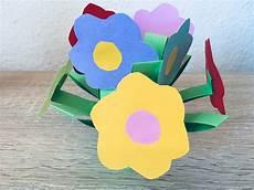Basteln Mit Kindern Frühlingsblumen - blumen aus papier basteln mit kindern der familienblog