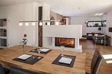 Wohnzimmer Mit Essbereich - essbereich und kamin barn house home und home decor