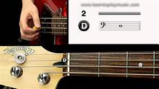 03 Bass Tuning 2nd String D Note