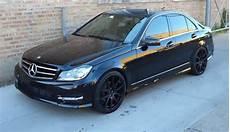 mercedes c class on black luxury rims giovanna
