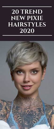 new trend hairstyle for 20 trend new pixie hairstyles 2020 hair trends