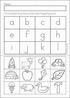 cut and paste letter worksheets for kindergarten 23464 56 best graad 1 klanke images on day care letters and preschool