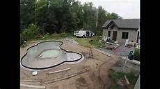 time lapse construction de piscine creus 233 jour 1 224 8