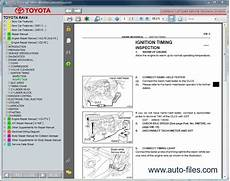 auto repair manual free download 1996 toyota rav4 navigation system toyota rav4 aca20 zca25 cla20 repair manuals download wiring diagram electronic parts