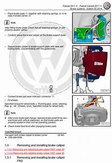 free online car repair manuals download 2011 volkswagen eos seat position control volkswagen passat 2011 2015 repair manual factory manual