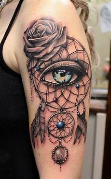 50 dream catcher tattoo design ideas and placements that