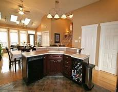 L Shaped Kitchen Island With Sink by Two Tier Island With Sink And Dishwasher Would Prefer The