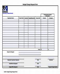 sle budget request form 9 exles in word pdf