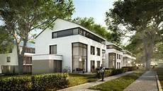 Rohrer Hoehe Architekturvisualisierung Doppelhaus Tag By