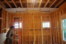 garage verputzen innen plywood or drywall