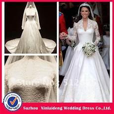 hochzeitskleid kate middleton yw 12061422 exquisite design royal satin sleeves lace