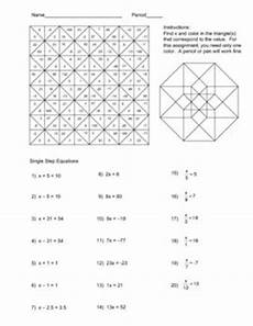color by number systems of equations worksheet 16138 1000 images about math coloring pages on equation solving equations and math