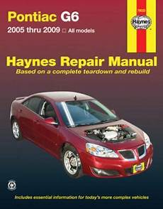 car maintenance manuals 2005 pontiac g6 transmission control pontiac g6 haynes repair manual 2005 2009 hay79025