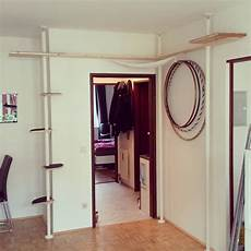 diy catwall catwalk made with ikea stolmen posts also