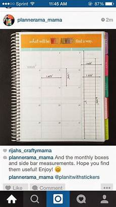 Planner Dimensions by Checklist Columns Stickers My Planner Envy