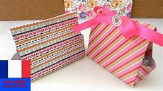 Diy Petits Emballages Cadeaux 224 Plier Pour Le Calendrier