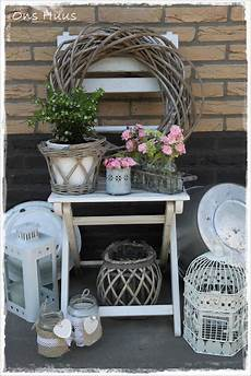 Deko Stuhl Garten - stuhl mit deko balkony tarassen garte