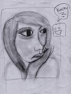 Hasil Belajar Menggambar Sketsa Wajah Dafone S Note