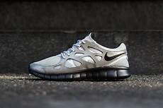 nike free run 2 metallic silver black hypebeast