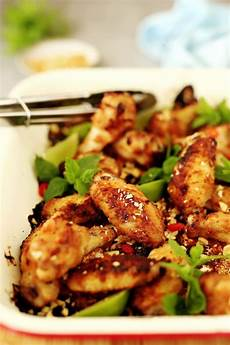 Chicken Wings With Hoisin Peanut Marinade Eat By Shanai