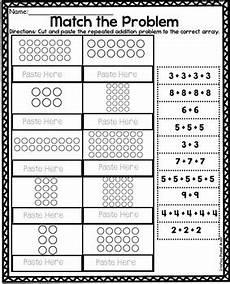 arrays worksheets by teaching second grade teachers pay teachers