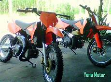 Modifikasi Suzuki Tornado by 83 Modifikasi Motor Trail Suzuki Tornado Modifikasi Trail