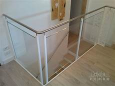 ringhiera vetro e acciaio ringhiera in ferro e acciaio idealferro