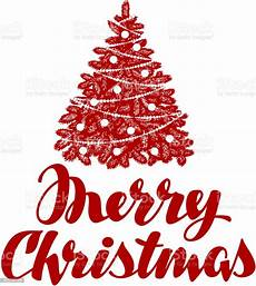 merry christmas tree vector illustration stock illustration download image now istock