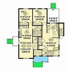 house plans for multigenerational families multi generational bungalow house plan 80733pm