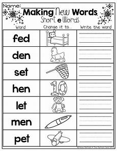 two letter words worksheets for kindergarten 23538 make a new word change the beginning sound for a new sound words kindergarten reading
